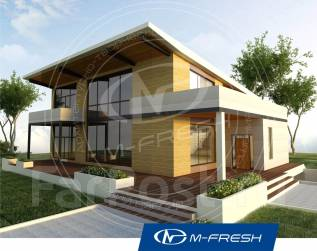 M-fresh Specific (Проект специфического дома с витражами! Посмотрите! ). 400-500 кв. м., 2 этажа, 5 комнат, дерево
