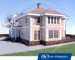 M-fresh Majesta-зеркальный (Покупайте сейчас проект со скидкой 20%! ). 200-300 кв. м., 2 этажа, 5 комнат, бетон