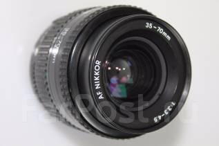 Объектив AF Nikkor 35-70mm 1:3.3-4.5. Для Nikon, диаметр фильтра 52 мм