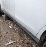 Накладка на порог. Nissan Almera, G11