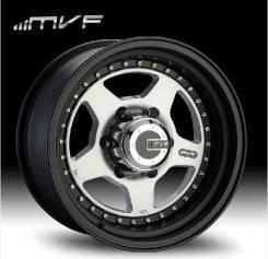 MVF. 8.0x16, 5x139.70, 6x139.70, ET-5, ЦО 110,5мм. Под заказ