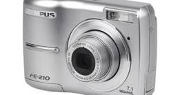 Olympus FE-210. 7 - 7.9 Мп, зум: 3х