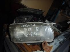 Фара. Toyota Corolla, AE110