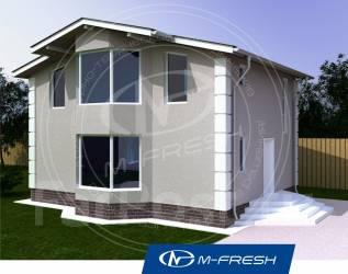 M-fresh Young man (Каркасник или СИП-панели, дачный дом или жилой). 100-200 кв. м., 1 этаж, 4 комнаты, каркас