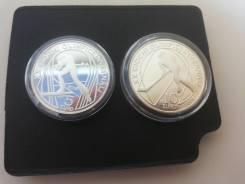 Серебряные олимпийские монеты Турин 2006