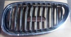 Решетка радиатора. BMW 5-Series, E60, E61 Двигатели: M47TU2D20, M57D30TOP, M57D30UL, M57TUD30, N43B20OL, N47D20, N52B25UL, N53B25UL, N53B30OL, N53B30U...