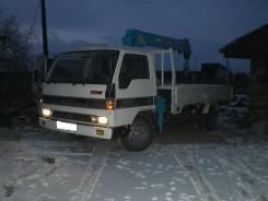 Услуги грузовика с краном кузов-3т; р-р 2x4м, кран 2,5т от 800р. ч