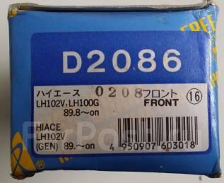 Колодка тормозная дисковая. Toyota Hiace, RZH155, LH174, LH102, LH112, LH104, LH114, RZH105, RZH103, RZH125, RZH115, LH162, LH184, RZH113, LH172, LH10...