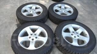 Колеса зимние на Мурано 225-65-18 Bridgestone новые. 7.0/7.0x18 5x114.30 ET35/50 ЦО 66,1мм.