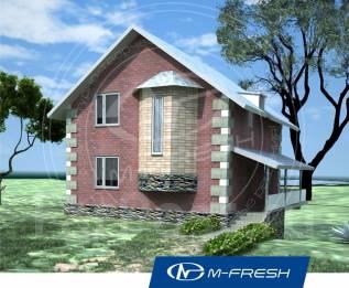 M-fresh Safety (Покупайте сейчас проект со скидкой 20%! ). 100-200 кв. м., 1 этаж, 5 комнат, бетон