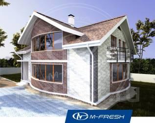 M-fresh Radius (Покупайте сейчас проект со скидкой 20%! ). 300-400 кв. м., 2 этажа, 7 комнат, комбинированный