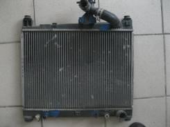 Радиатор охлаждения двигателя. Toyota Funcargo, NCP20, NCP21 Двигатель 2NZFE
