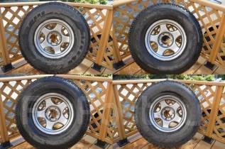 Не Китай! Отличный зимний Bridgestone DMZ3 285/75/16 на ковке Bradley. 8.0x16 6x139.70 ET0