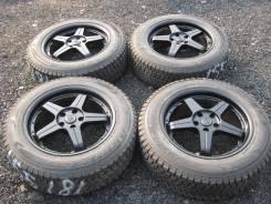 "Японская зимняя резина Dunlop на дисках. 7.5x18"" 5x114.30 ET50 ЦО 72,0мм."