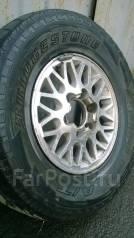 Bridgestone Dueler A/T D694. Всесезонные, износ: 40%, 4 шт