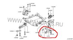 Кронштейн кпп. Nissan Almera, G11 Двигатель K4M