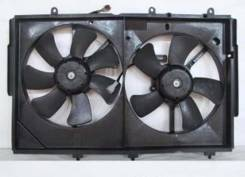 Вентилятор охлаждения радиатора. Mitsubishi Outlander, CW5W, CU2W, CU5W, CW6W Двигатели: 4B12, 4G63, 4G69, 6B31