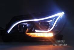 Led тюнинговые фары Subaru Forester SJ SJ5 SJG - Галоген (тюнинг)