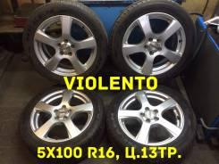 Violento. 6.5x16, 5x100.00, ET48, ЦО 73,0мм.