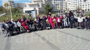 Приму в дар коляску инвалидную