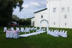 Re: Украшение помещений для свадьбы шарами, драпировкой, иск. цветами