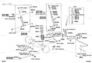 Тяга продольная. Toyota Land Cruiser, FZJ105, HZJ105, HDJ80, HZJ80, HZJ81, HDJ81, FJ80, HZJ81V, FZJ80 Двигатели: 1HDFT, 1FZF, 3FE, 1HDT, 3F, 1HZ, 1FZF...