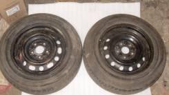 Колеса Bridgestone SF-265 195/65 на штампах R15 5x114,3 6J ET46. 6.0x15 5x114.30 ET46 ЦО 61,0мм.