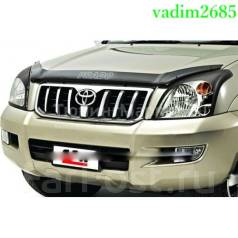 Дефлектор капота. Toyota Land Cruiser Prado. Под заказ