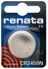 Литиевый элемент питания (батарейка) Renata CR2450