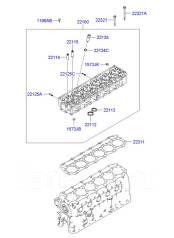 Вал балансирный. Hyundai HD Hyundai Aero Двигатель D6BR. Под заказ