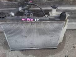 Радиатор охлаждения двигателя. Toyota ist, NCP60 Двигатель 2NZFE