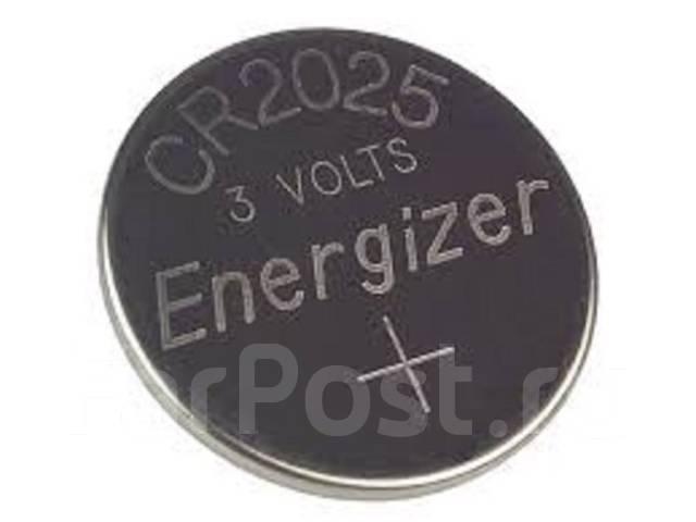 Литиевый элемент питания (батарейка) Energizer CR2025
