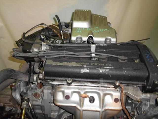 Контрактный б/у двигатель + АКПП Honda B20B