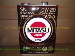 Mitasu. Вязкость 0w20, синтетическое
