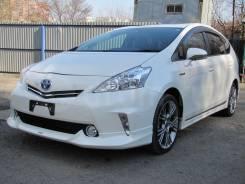 Комплект обвеса в круг накладки на Toyota Prius A ZVW40 Modellista. Toyota Prius a, ZVW41, ZVW40