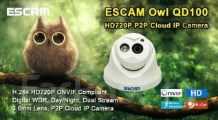 Escam Owl QD100. Менее 4-х Мп, без объектива