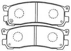 Колодка тормозная дисковая. Mazda: Efini MS-9, Sentia, Bongo Friendee, Ford Freda, MPV, Eunos Cosmo, Luce, Eunos 800, Millenia