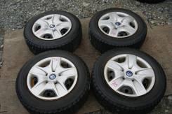 Комплект зимней японской резины на дисках 195/65/15 Bridgestone (030). 6.0x15 5x100.00
