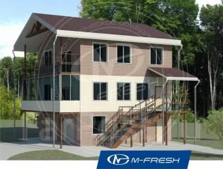 M-fresh Auto plus (Покупайте сейчас проект со скидкой 20%! ). 200-300 кв. м., 3 этажа, 4 комнаты, кирпич