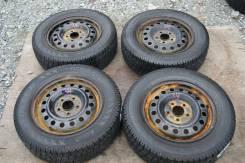 Комплект зимней японской резины на дисках 195/65/15 Pirelli (034). 5.5x15 4x100.00
