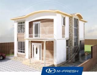 M-fresh Sweet mix (Купите сейчас проект со скидкой 20%! ). 100-200 кв. м., 2 этажа, 5 комнат, бетон