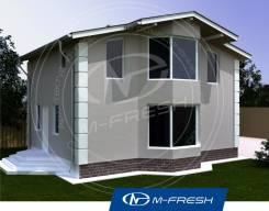 M-fresh Young man (Купите сейчас проект со скидкой 20%! ). 100-200 кв. м., 2 этажа, 4 комнаты, каркас