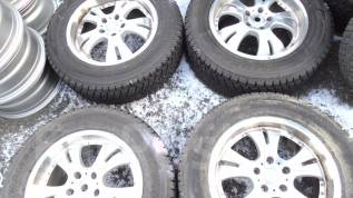 Продам комплект зимних шин на литых дисках 225/65R17. 7.0x17 5x114.30 ET53 ЦО 71,0мм.