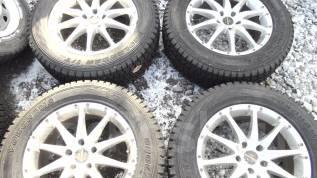 Продам комплект зимних шин на литых дисках 225/65R17. 7.0x17 5x114.30 ET48 ЦО 72,0мм.