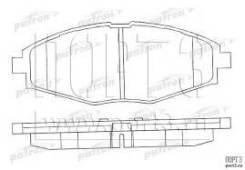 Колодка тормозная. Daewoo Matiz Chevrolet Lanos