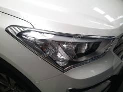 Накладка на фару. Hyundai Santa Fe