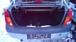 Полка багажника. Renault Logan Двигатель K7J