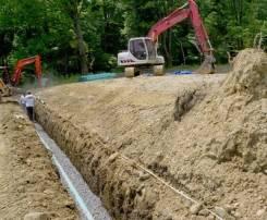 Дренаж, канализация, септик, водоотведение. Недорого!