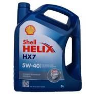 Shell. Вязкость 5W40, полусинтетическое