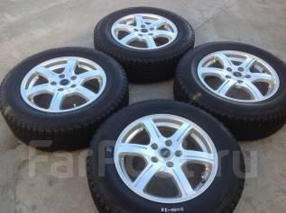 215/65 R 16 Bridgestone DM-V1 литые диски 5х114.3 R16 Feid (к2-16008). 6.5x16 5x114.30 ET46